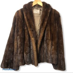 Vintage mink coat from FURS BY FRANCIS